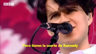 Vampire Weekend - Diane Young SUBTITULADO