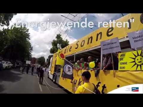 Energiewende retten: 8.000 bei Demo in Berlin