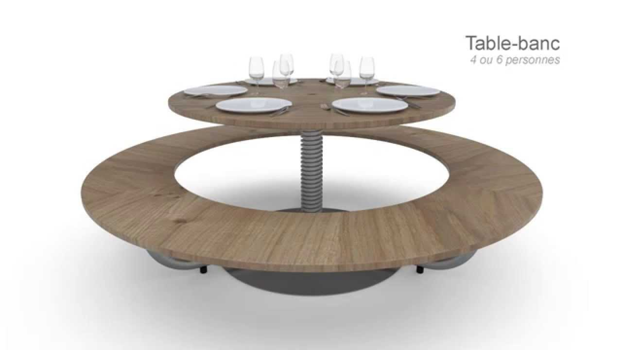 maxresdefault 27 Élégant Table A Manger Transformable Hyt4