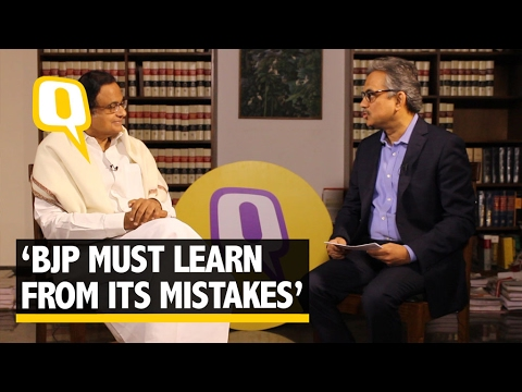The Quint | Exclusive: 'Cat on the Wall' BJP Must Learn From Mistakes, Says  Chidambaram
