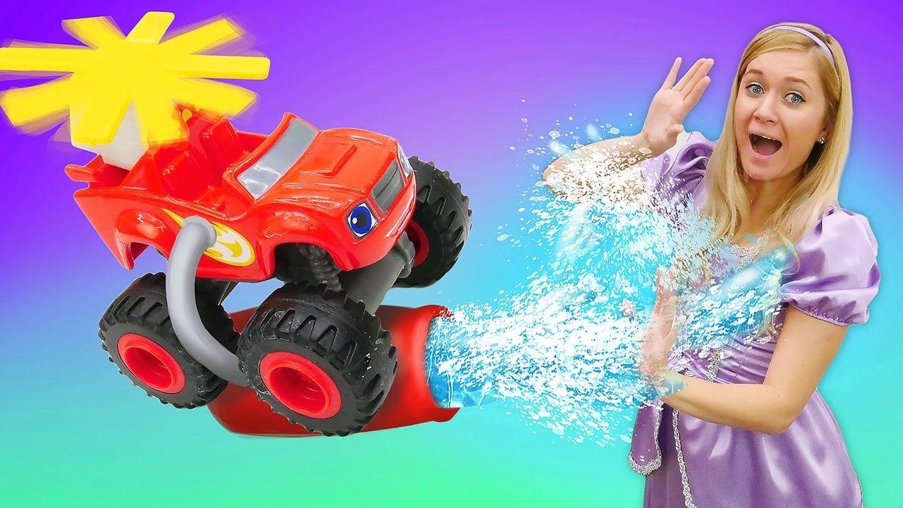 Video a giochi per bambini. La principessa Sofia e Blaze. Nuovi episodi