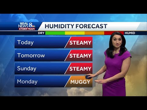 Central Pennsylvania Weather: Temperatures Heading Into Mid-90s