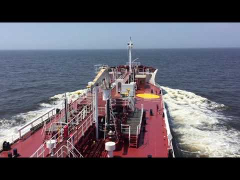 "Asphalt Tanker ""San Benedetto II"" Sea trials"