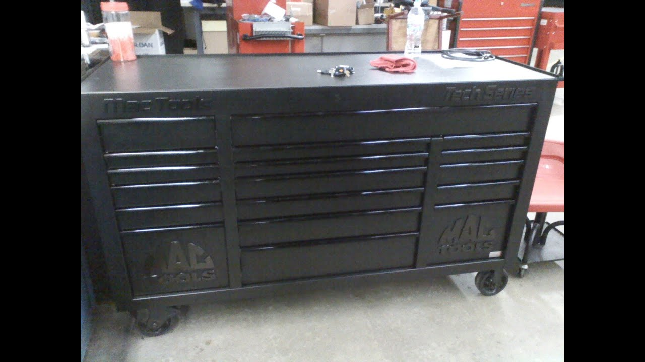 Tool box tour part 1 Mac Tools Tech Series 1080 Power