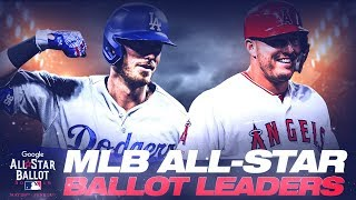 MLB All-Star Ballot leaders (Week of 6/10)