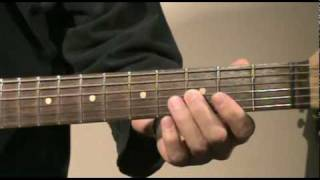 Guitar lesson - Blues Solo in G #1