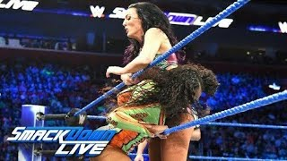 Naomi vs  Peyton Royce  SmackDown LIVE, Sept  13, 2018woman matchwwe girl match