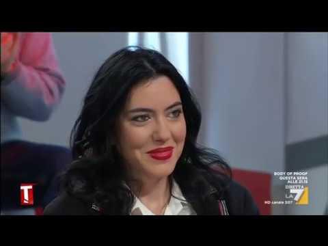 Lucia Azzolina Ospite A Tagadà La7 12 11 2018 Youtube