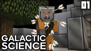 """WELCOME BACK TO MODDED MINECRAFT...IN SPACE!!!"" Galactic Science Ep 01 Minecraft Modded Survival"