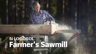 Farmer's Sawmill - The backyard sawmill with high capacity