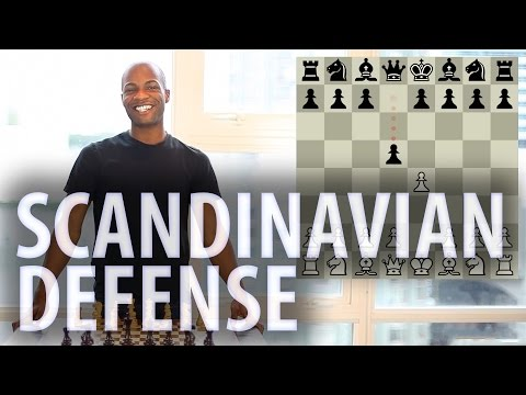 Chess openings - Scandinavian Defence