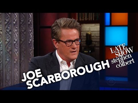 Joe Scarborough Says