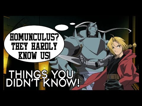7 Things You Probably Didn't Know About Fullmetal Alchemist!