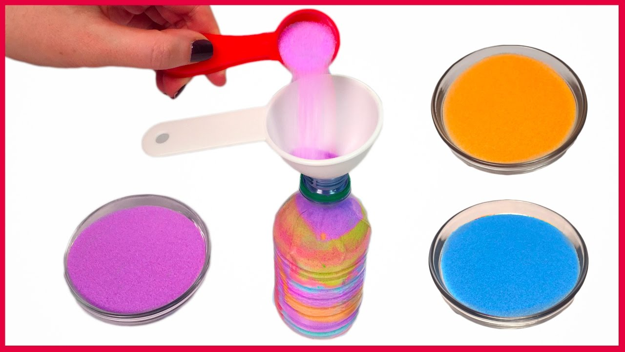 Diy how to make a colorful bottle of sand art youtube diy how to make a colorful bottle of sand art solutioingenieria Choice Image