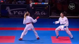 53rd EKF Senior Championships - Kumite Feale -55Kg -A. Terliuga (UKR) - A. Hasan (CRO)