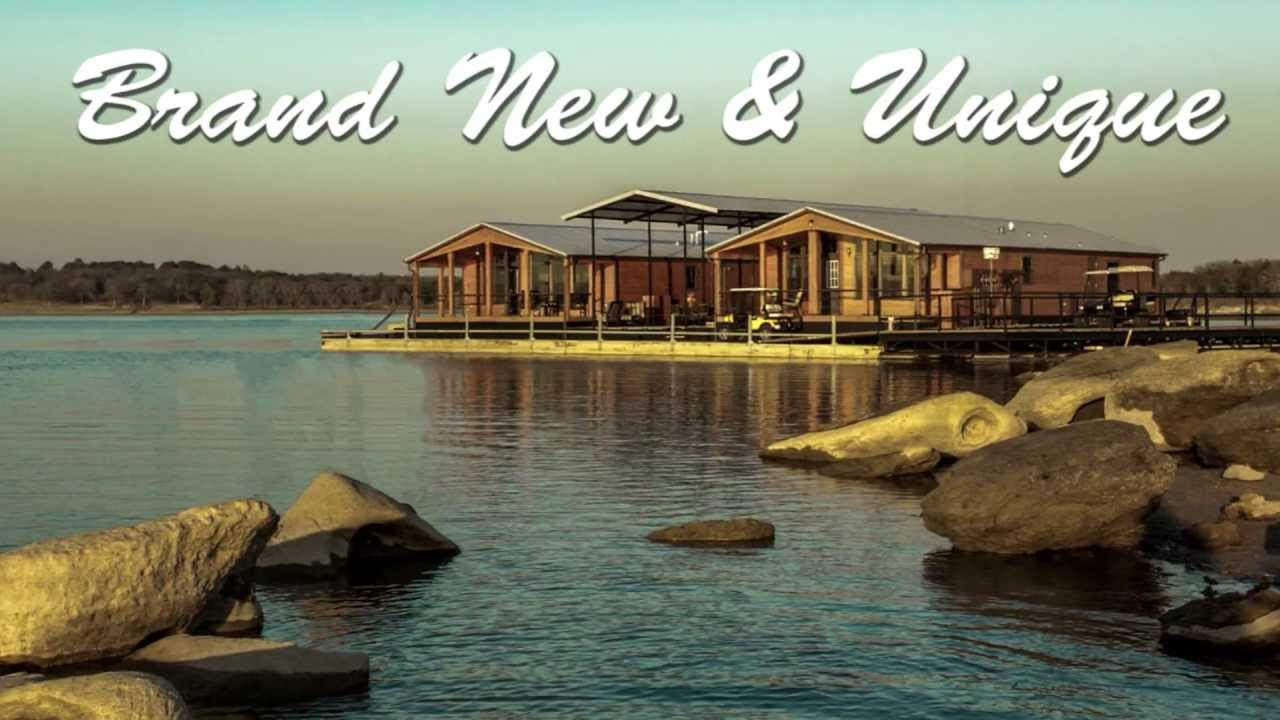 Lake Texoma Resort In Texas With Floating Homes For Sale