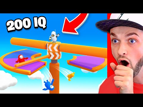 *NEW* 200 IQ Fall Guys plays you HAVE TO TRY! (EASY WINS)
