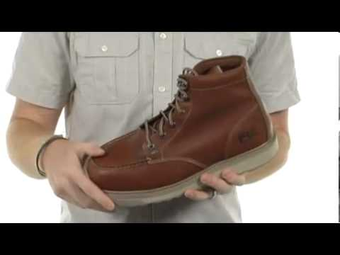 f3bb24de77c Timberland PRO Barstow Wedge Safety ToeSKU  7977836 - YouTube