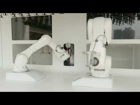 Makr Shakr Opens Robotic Bars in Milan and London
