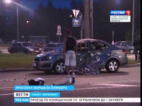 Игорь Андреев погиб в дтп на проспекте Маршала Блюхера 01.06.14