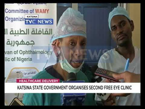 Katsina govt organises second free eye clinic