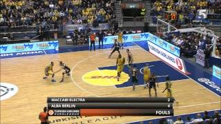 Euroleague Top 16 Game 7: Maccabi Electra Tel Aviv - ALBA Berlin 59:66