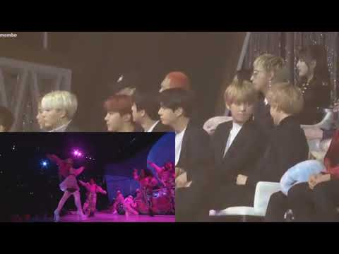 BTS  reaction to Ariana Grande (Live From The Billboard Music Awards / 2019)