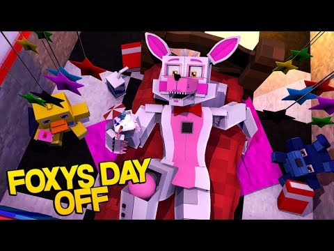 Minecraft Fnaf: Sister Location - Funtime Foxys Day Off (Minecraft Roleplay)
