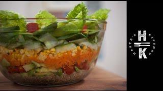 Super Bowl Sunday Layered Salad - With Djbbq Foodtube