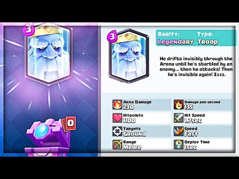 Royal Ghost Legendary!? - Clash Royale Gameplay