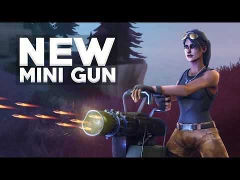 WE FOUND 8 MINI GUNS IN ONE AREA! Crazy Ending! - Fortnite Battle Royale