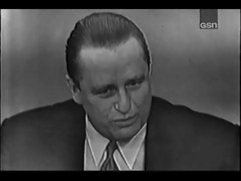 What&39;s My Line? - Arlene Francis&39;s first show - Elliott Roosevelt Feb 16 1950