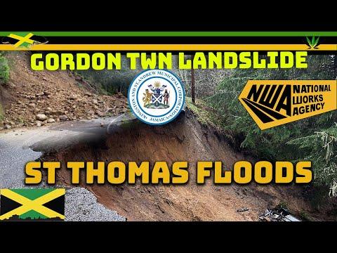 Landslides And Floods In Jamaica Part 2 | Jamaica 01 - 07 Nov 2020