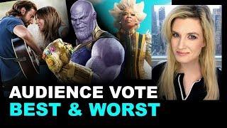 Best & Worst Movies 2018 - Audience Vote