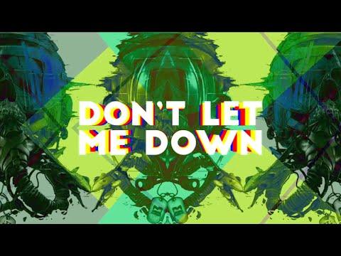 Khóa học Motion Graphic -  Don't Let Me Down (Lyric Video Fanmade)