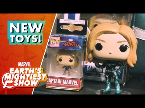 Marvel Studios' Captain Marvel Merch Arrives at Toy Fair 2019!