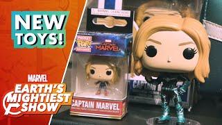 Marvel Studios' Captain Marvel Merch Arrives at Toy Fair 2019!