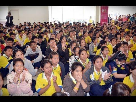 นักเรียนสาธิต มมส สนุกกับคอนเสิรต์  TO BE NUMBER ONE IDOL