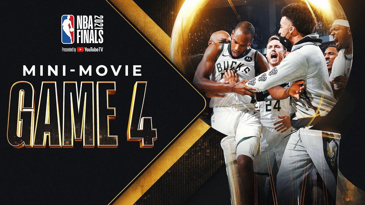 Bucks Even It Up: NBA Finals Game 4 MINI-MOVIE!  🔥