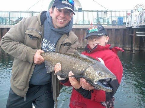 Okuma Fishing Rod Unboxing And GIANT King Salmon!