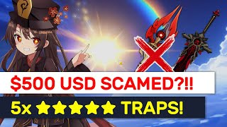 NEW Staff Of Homa Banner IS A TRAP!! $500 USD & 5 ★★★★★ Disaster! | Genshin Impact