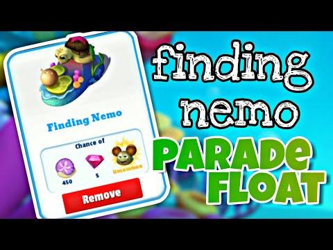 Disney Magic Kingdoms Part 139 Unlocked Crush + Nemo Parade Float (Catch The Play)