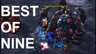Light (P) v Railgan (Z) BEST OF 9! - StarCraft 2 - Legacy of the Void 2018
