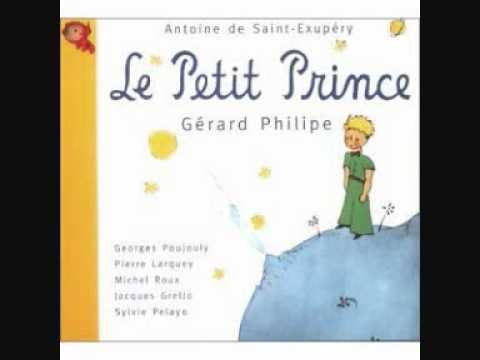 Le Petit Prince, voix de Gérard Philippe et Georges Poujouly
