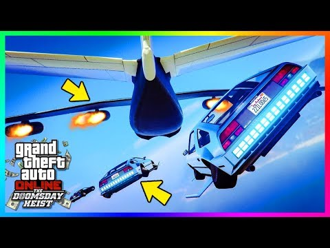 GTA Online The Doomsday Heist DLC ACT 1 Missions - HUGE Payouts, Beginner Tips & Getting Started!
