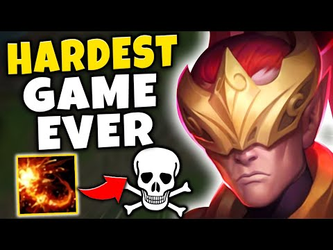 THE HARDEST GAME OF LEE SIN I'VE EVER PLAYED! (CAN I CARRY?) - League of Legends