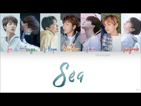 BTS(방탄소년단) 'Sea(바다)' [Color Coded Han|Rom|Eng lyrics]