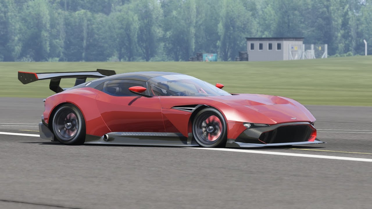 Aston Martin Vulcan At Top Gear Test Track Assetto Corsa Youtube