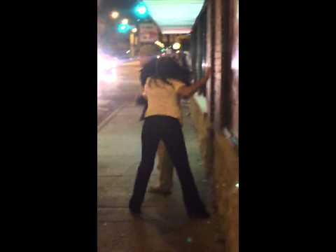 Fight in Lincoln Park North Side Chicago