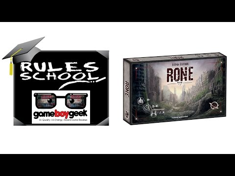 How to Play Rone Rules School with the Game Boy Geek